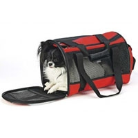 Ethical Fashion Pet Carrier Small - Red