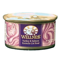 Wellness Canned Cat Super5Mix Turkey & Salmon 3 Oz