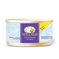 Wellness Beef & Salmon Canned Cat 24/3 oz