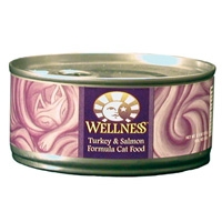 Wellness Canned Cat Super5Mix Turkey & Salmon 5.5 Oz