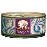 Wellness Canned Cat Super5Mix Chicken & Herring 5.5 oz