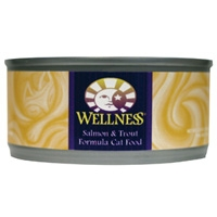 Wellness Canned Cat Salmon & Trout