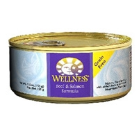 Wellness Beef & Salmon Canned Cat 24/5.5 oz
