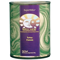 Wellness Canned Cat Super5Mix Turkey 12.5 oz Case