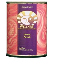 Wellness Canned Cat Super5Mix Chicken 12.5 Oz