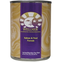 Wellness Canned Cat Salmon & Trout 12.5 oz.
