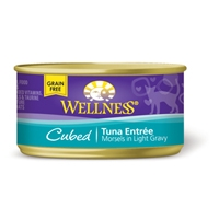 Wellness Cat Cuts Cubed Tuna, 24/3 Oz