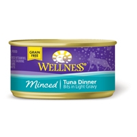 Wellness Cat Cuts Minced Tuna, 24/3 Oz