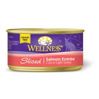 Wellness Cat Cuts Sliced Salmon, 24/3 Oz