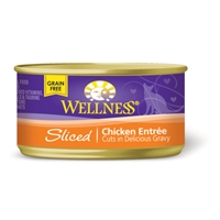 Wellness Cat Cuts Sliced Chicken, 24/3 Oz