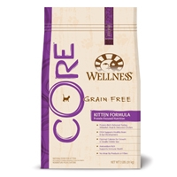 Wellness Core Grain Free Kitten Formula 8/2 Lb