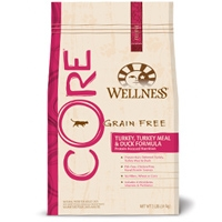Wellness Core Grain Free Turkey/Turkey Meal/Duck Formula 8/2 Lb