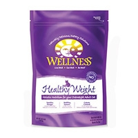 Wellness Dry Cat Healthy Weight 6/40 oz Case