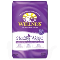 Wellness Healthy Weight Dry Cat Food 5 Lb.