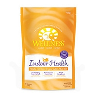Wellness Indoor Health Dry Cat Food 5 Lb.