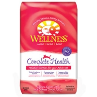 Wellness Dry Cat Complete Health Salmon 12 lbs