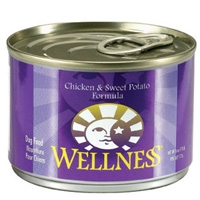 Wellness Canned Dog Super5Mix Chicken 24/6 oz Case