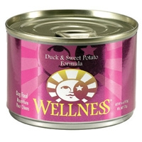 Wellness Canned Dog Super5Mix Duck 24/6 oz Case