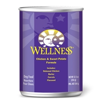 Wellness Canned Dog Super5Mix Chicken 12/12.5 oz Case