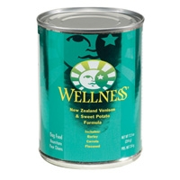 Wellness Canned Dog Venison & Sweet Potato 12/12.5 oz Case