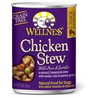 Wellness Chicken Stew with Peas & Carrots 12.5 Oz