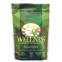 Wellness Super5Mix Dry Dog Lamb 6/6 lbs Case