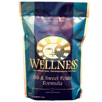 Wellness Dry Dog Fish & Sweet Potato 6/6 lbs Case