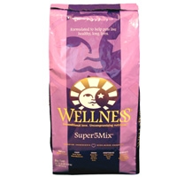 Wellness Super5Mix Dry Dog Chicken 15 lbs