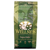 Wellness Super5Mix Dry Dog Lamb 15 lbs
