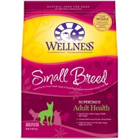 Wellness Super5Mix Small Breed Adult Health 6/4lbs