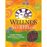 Wellness WellBites Lamb & Salmon 8/8 oz Case