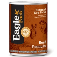 Eagle Pack Beef Formula Can Dog 12/13.2 oz.