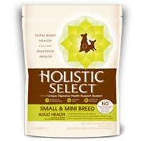 Holistic Select Radiant Adult Health Dog Small & Mini Breed Anchovy, Sardine & Chicken Meals Recipe 6/6 lb.