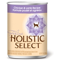 Holistic Select Chicken & Lamb Can Cat 12/13 oz.