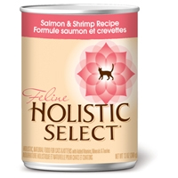 Holistic Select Salmon & Shrimp Can Cat 12/13 oz.