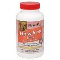Nutri-Vet Hip & Joint Plus Tablets 75 Count