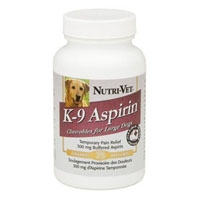 Nutri-Vet K-9 Buffered Aspirin Large Dog 75 Count
