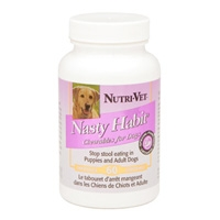 Nutri-Vet Nasty Habit Tablets 60 Count