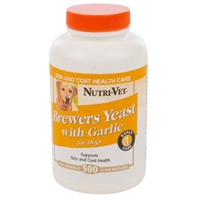 Brewers Yeast with Garlic Chewables  500 ct