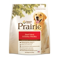 Nature's Variety Prairie Beef & Barley Medley Dry Dog Food by Nature's Variety 5 lb. C=4
