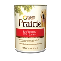 Nature's Variety Prairie Canned Beef Recipe with Barley 13.2 oz