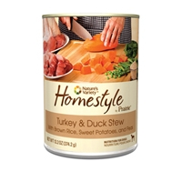 Nature's Variety Homestyle from the Prairie Canned Turkey and Duck Stew 13.2 oz