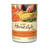 Nature's Variety Homestyle from the Prairie Canned Salmon and Wild Rice Stew 13.2 oz