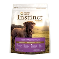 Nature's Variety Instinct Canine Kibble Rabbit Dog 13.2 lb.