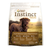 Nature's Variety Instinct Kibble Duck & Turkey Dog 25.3 lbs