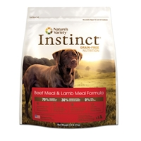 Nature's Variety Canine Instinct Beef Meal/Lamb Meal Diet 25.3 lb.