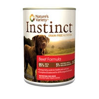Nature's Variety Instinct Can Dog Beef 12/13.2 oz