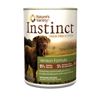 Nature's Variety Instinct Can Dog Venison 12/13.2 oz