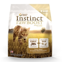Nature's Variety Instinct Raw Boost Kibble Feline - Duck 5.1# C=4