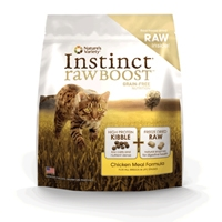 Nature's Variety Instinct Raw Boost Kibble Feline - Chicken 11.3#